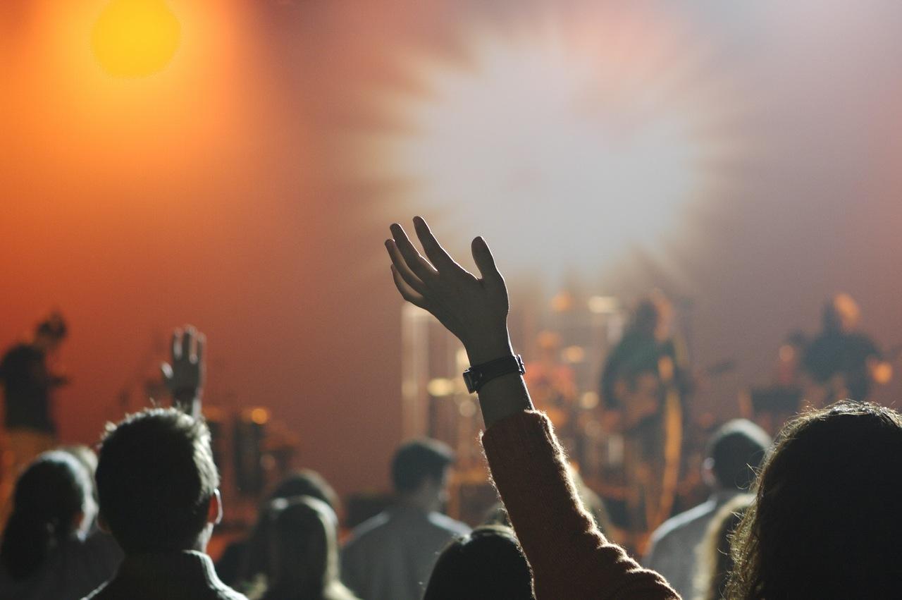 Hands at a Concert